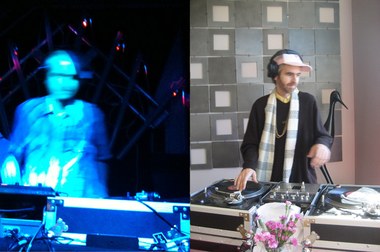 DJing a club and a private party in Sonoma and Mendocino counties.